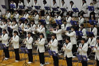 中学校 木曽川
